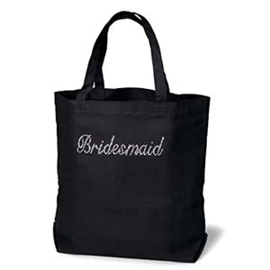 Victoria Lynn Canvas Bridal Tote Bridesmaid Bag